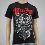 War Of Ages Snake Skull Black T-Shirt