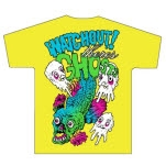 Watchout Theres Ghosts Fish Yellow T-Shirt