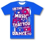 Watchout Theres Ghosts Tapes Royal Blue T-Shirt