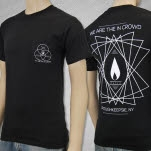 We Are The In Crowd Candle Black T-Shirt