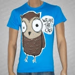 We Are The In Crowd Owl Teal T-Shirt