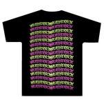 Weatherbox Multi Logos Black T-Shirt