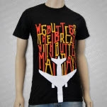 We Butter The Bread With Butter Mayday Black T-Shirt