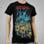 We Butter The Bread With Butter The Walking Bread Helicopter Black T-Shirt