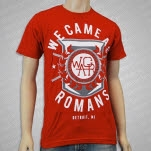 We Came As Romans Detroit Crest Red T-Shirt