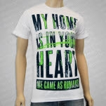 We Came As Romans My Home Your Heart White T-Shirt