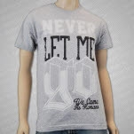 We Came As Romans Never Let Me Go Heather Grey T-Shirt