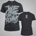 We Came As Romans Scratchy Text Dark Heather T-Shirt