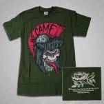 We Came As Romans Skull Helmet Green T-Shirt