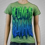 We Came As Romans Spray Logo Heather Green T-Shirt