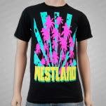 Westland Palm Trees Black T-Shirt