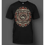official We The Kings Rock N Roll Black T-Shirt
