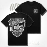 Whether    I Crest Black T-Shirt