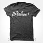 Whether    I Logo Heather Charcoal T-Shirt