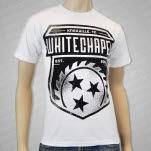 Whitechapel Blade Crest White T-Shirt