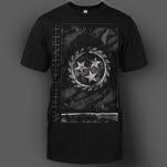 Whitechapel Doomsday Flag Black T-Shirt