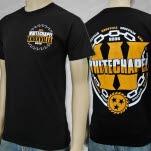 Whitechapel Est 2006 Sawblade Black T-Shirt
