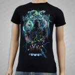 Whitechapel Druid Snake Black T-Shirt