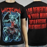 Whitechapel I Dementia Black T-Shirt
