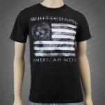 Whitechapel Strike Through Salute Black T-Shirt