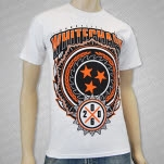 Whitechapel Sawblade Crest White T-Shirt