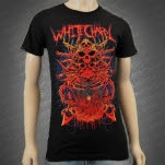 Whitechapel HT Skull Throne Black T-Shirt