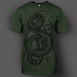 official Whitechapel Tread Army Green T-Shirt