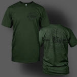 Whitechapel Waver Army Green T-Shirt