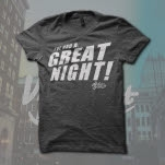 William Beckett Great Night Dark Heather T-Shirt