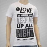 William Beckett Honeymoon White T-Shirt