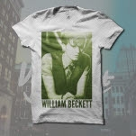 William Beckett Sitting Photo White T-Shirt
