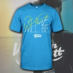 William Beckett What Will Be Script Teal T-Shirt