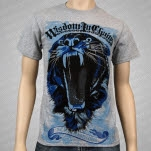 Wisdom In Chains Tiger Heather Gray T-Shirt