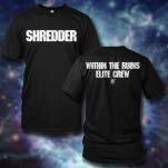 Within The Ruins Shredder Black T-Shirt
