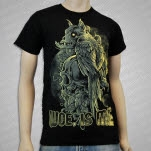 Woe Is Me BirdSkull Black T-Shirt