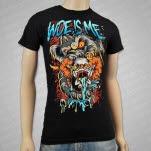 Woe Is Me HT Circus Revenge Black T-Shirt