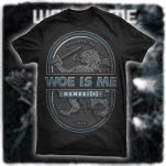 Woe Is Me Griffin Black T-Shirt