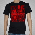Woe Is Me Haunts Black T-Shirt