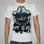Woe Is Me Rotten Teeth Pirate White T-Shirt