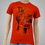 Woe Is Me Skull Red T-Shirt