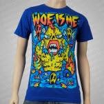 Woe Is Me Swamp Monster Royal T-Shirt