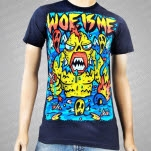 Woe Is Me Swamp Monster Navy T-Shirt