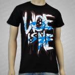Woe Is Me Splatter Black T-Shirt