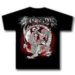 Woe Of Tyrants Dragon Black T-Shirt