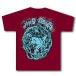 Woe Of Tyrants Warrior Maroon T-Shirt