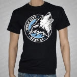 Wolf City Wolf Black T-Shirt