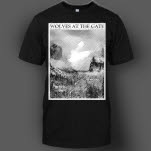 Wolves At The Gate Nature Black T-Shirt