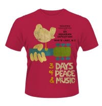 Woodstock 3 Days Of Peace T-Shirt