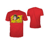 Worms Red Size Matters T-Shirt