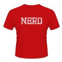 X Brand Nerd Red T-Shirt